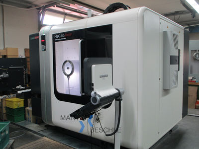 Universal - CNC machining centre DECKEL MAHO HSC 55 linear